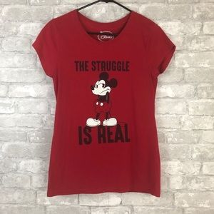 Disney Mickey Mouse The Struggle Is Real TShirt
